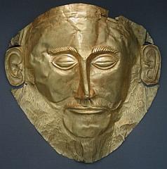 Stracci Zombie Mezza maschera di lattice teschio maschera nelle Iuta-look