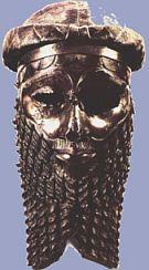 Sargon di Akkad, regnò dal 2334 al 2279 aC