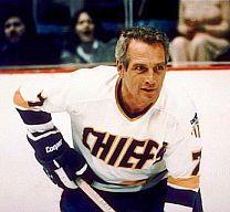 Paul Newman nel film Colpo secco (Slapshot)