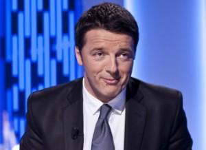 22/04/2013 Roma, rasmissione televisiva Otto e Mezzo, nella foto Matteo Renzi