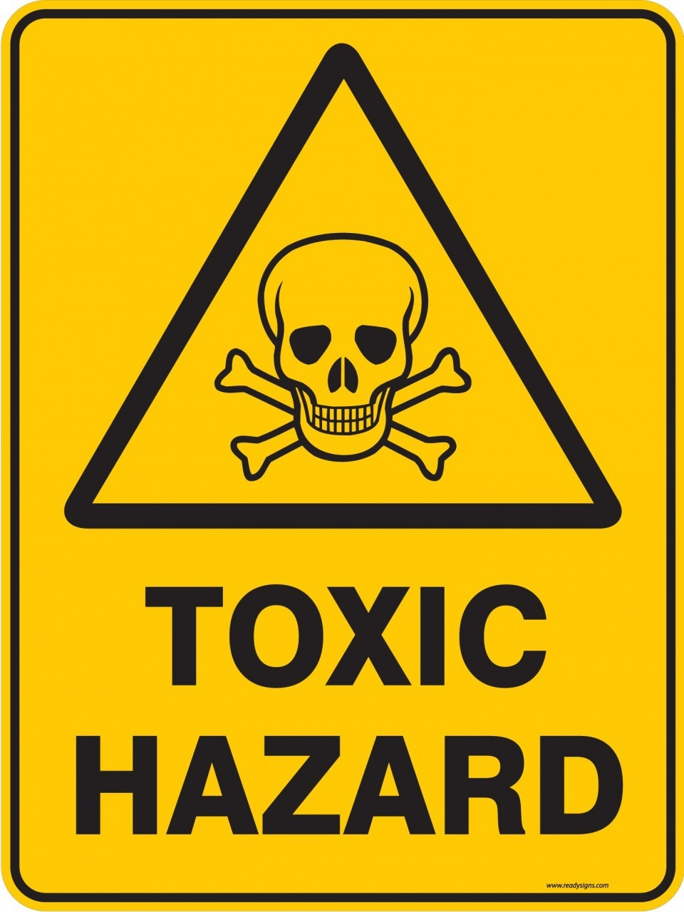 toxic waste sign - HD960×1280
