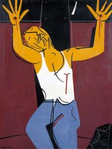 SEOANE. CRISTO OBRERO CRUCIFICADO, 1975