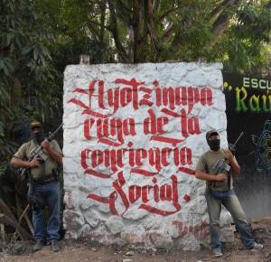 Ayo Polizia comunitaria a Ayotzinapa