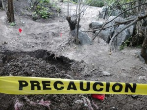 Ayotzinapa Fosas-clandestinas-Iguala