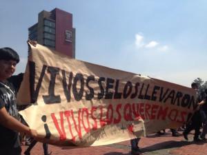 Ayotzinapa cartel unam1