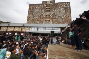 Ayotzinapa unam templete