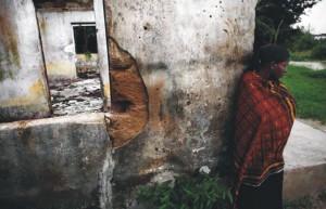 I resti del centro medico di Okpai