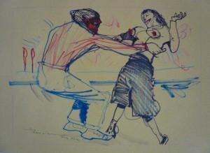 Marco Perroni: ballerini sulla spiaggia