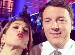 Barbara-DUrso-Matteo-Renzi