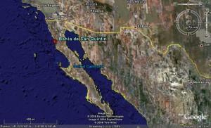 San Quintin Mapa