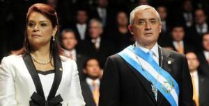 Otto-Perez-Molina-e vicepresidenta guatemala