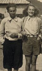 Bianca Guidetti Serra e Primo Levi