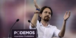 Pablo Igesias, leader di Podemos