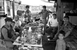 Rom bosniaci. Festa di San Giorgio al Casilino 700.