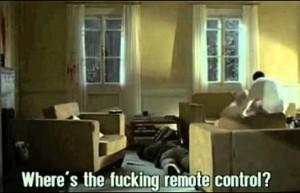 funny game - remote control