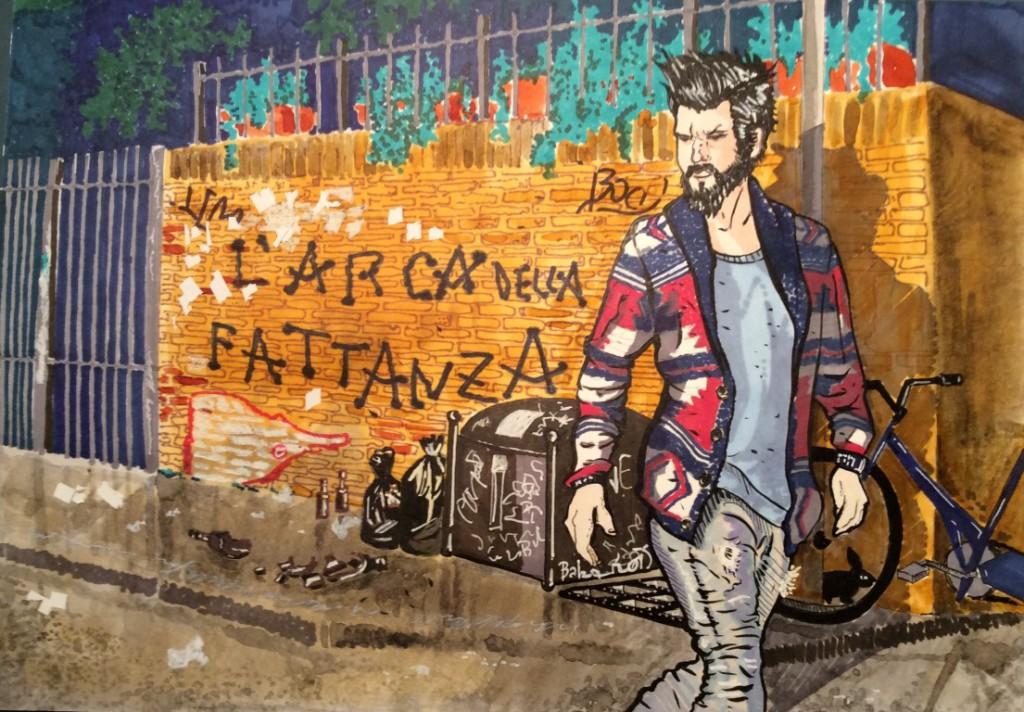 L'Arca della Fattanza Copertina Romanzo Jago Malteni