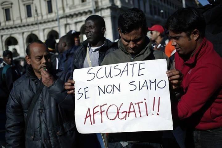 migranti scusate