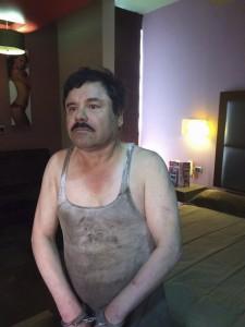 MLOS MOCHIS, SINALOA, 08ENERO2016.- En un operetivo realizado por la Marina Armada de México durante la madrugada, fue recaptrado Joaquín