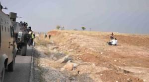 Carri armati turchi sulla frontiera.