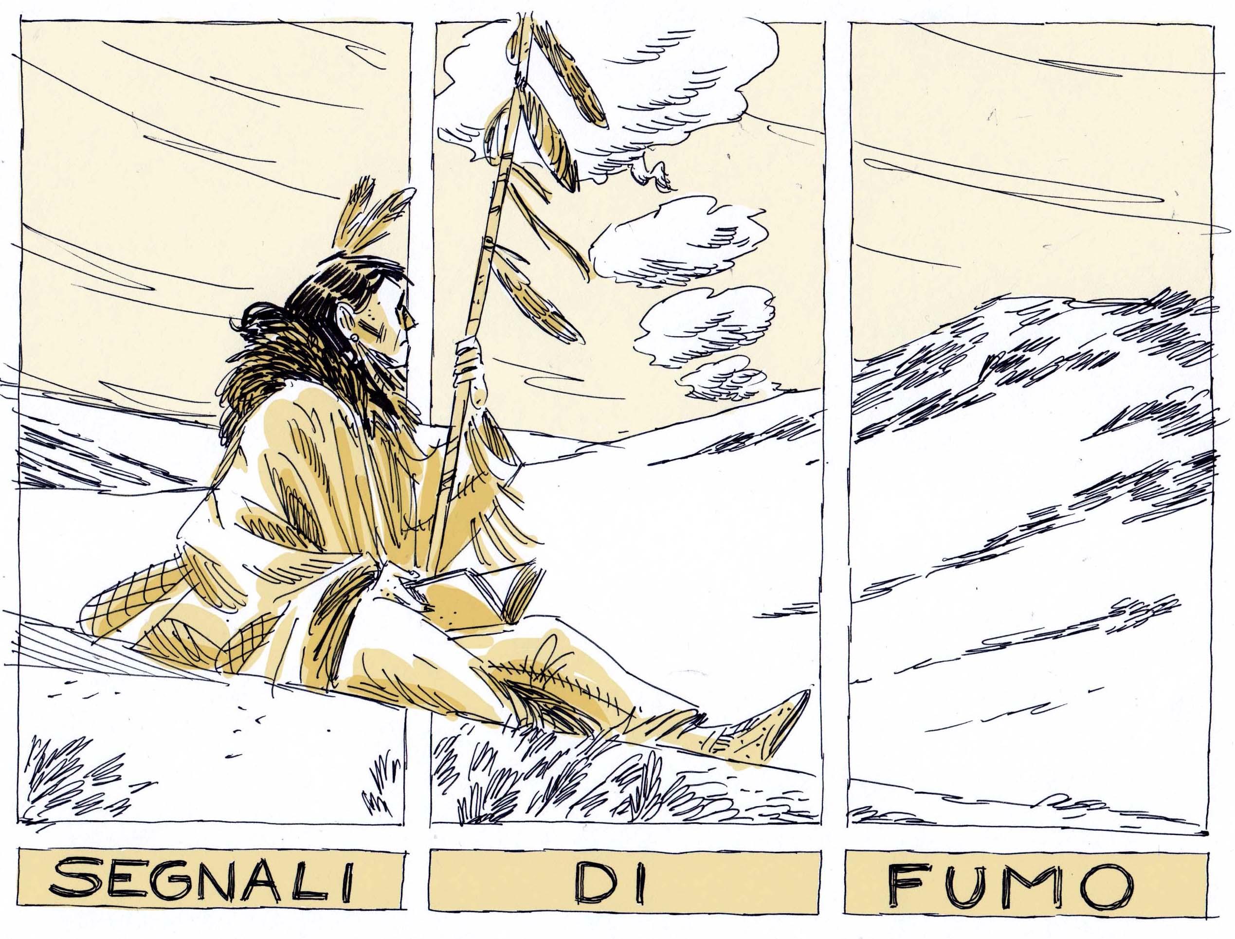 Segnali Di Fumo La Nuova Rubrica A Fumetti Di Carmilla Carmilla
