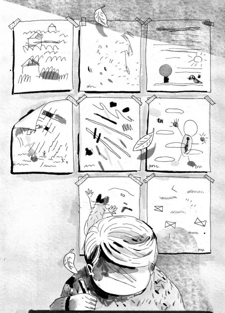 """L'illustrazione di Alice Socal al racconto """"È giusto così"""" di Veronica Pacini"""