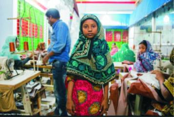 Bangladesh: bambina, 2015. Foto Claudio Montesano Casillas.