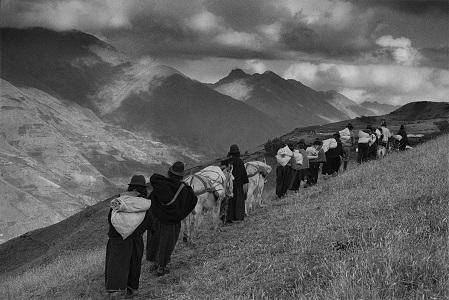 Regione di Chimborazo, Ecuador, 1998 © Sebastião Salgado/Amazonas Images/Contrasto