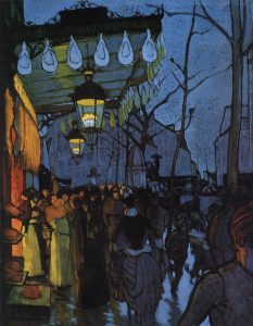 arte-avenue-de-clichy-five-oclock-in-the-evening-by-louis-anquetin-1887