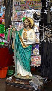 Statua di San Giuda Taddeo santo delle cause perse