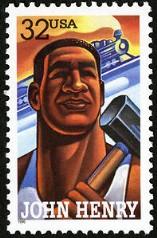 john-henry-stamp
