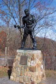 john henry statua